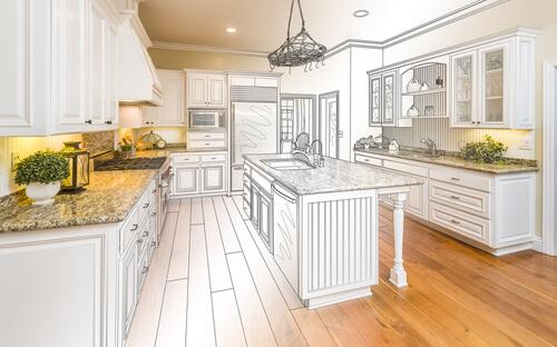 Kitchen bathroom design services cabinet genies cape for Kitchen design services