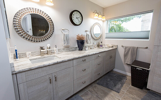 Bathroom Wall Cabinets Storage Ideas Cabinet Genies Cape Coral Fl