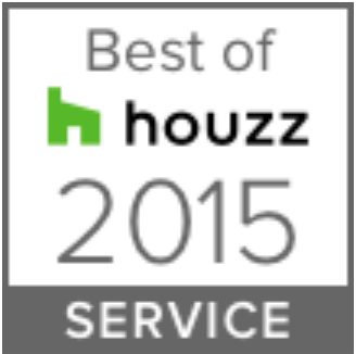 Remodeling Awards & Associations - Cabinet Genies Cape Coral FL, Best of Houzz Award 2015