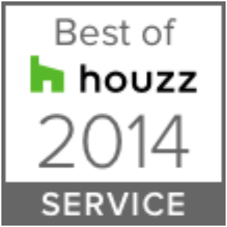 Remodeling Awards & Associations - Cabinet Genies Cape Coral FL, Best of Houzz Award 2014