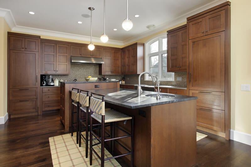 Oak Makes A Comeback in Kitchen Design-dreamstime_s_26083775