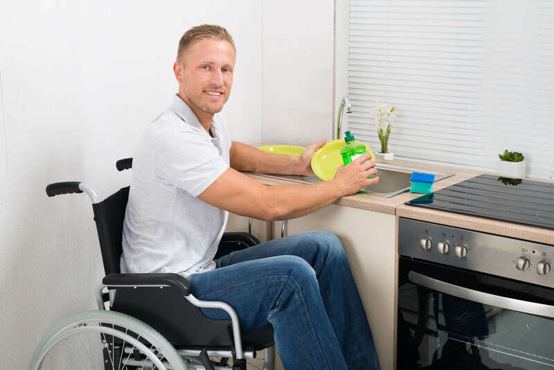 Designing A Kitchen With Wheelchair Access - dreamstime_s_54638043
