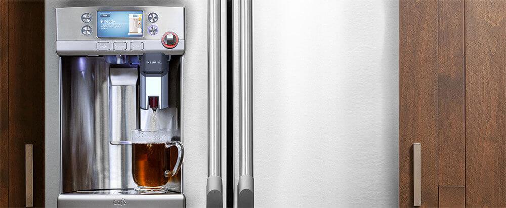 new refrigerator has built in keurig in the door-banner_k_cup