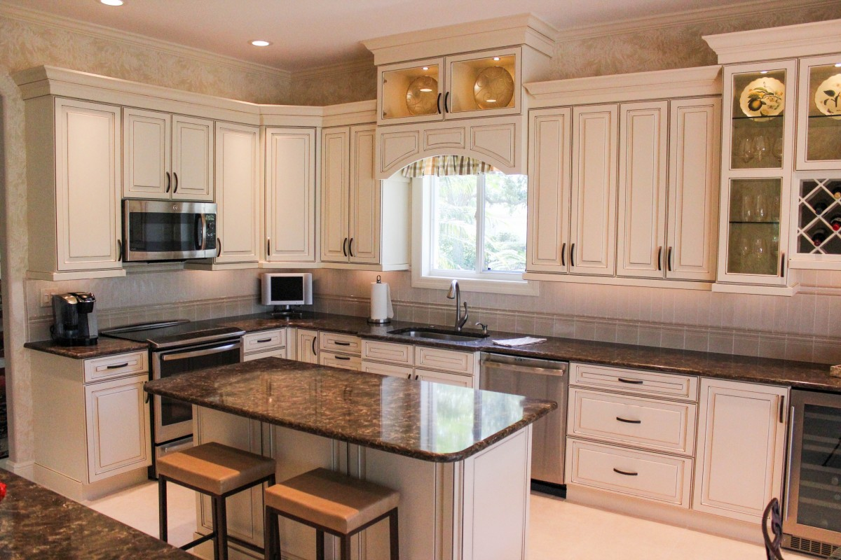 Hobert Residence Cabinet Genies Kitchen And Bathroom Remodeling Cape Coral Fl