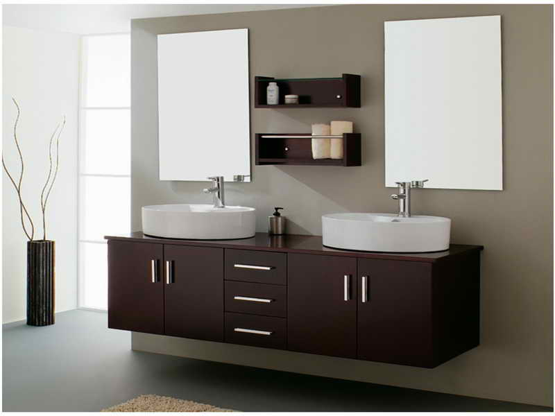 Floating Bathroom Vanity - Cabinetgenies Cape Coral FL
