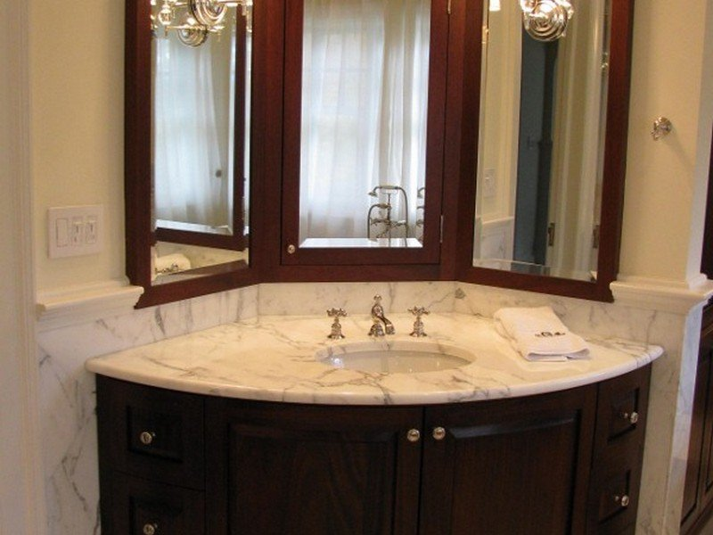 Corner Bathroom vanity - Cape Coral FL
