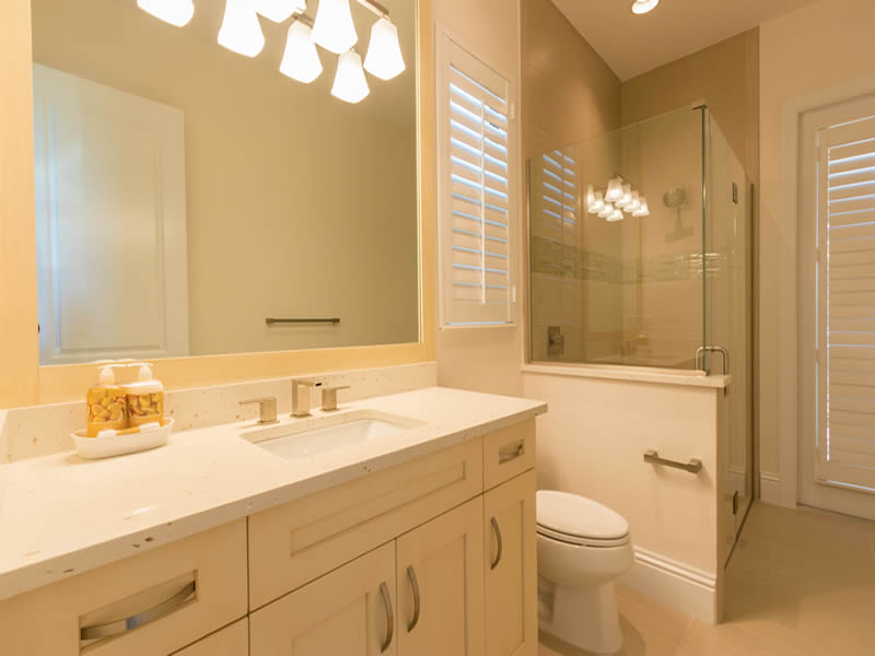 Single Bathroom Vanity - cabinetgenies Cape Coral FL