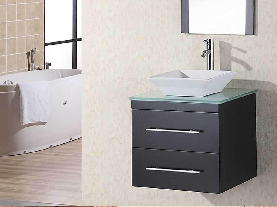 Bathroom Corner Vanities - Cabinet Genies Cape Coral FL