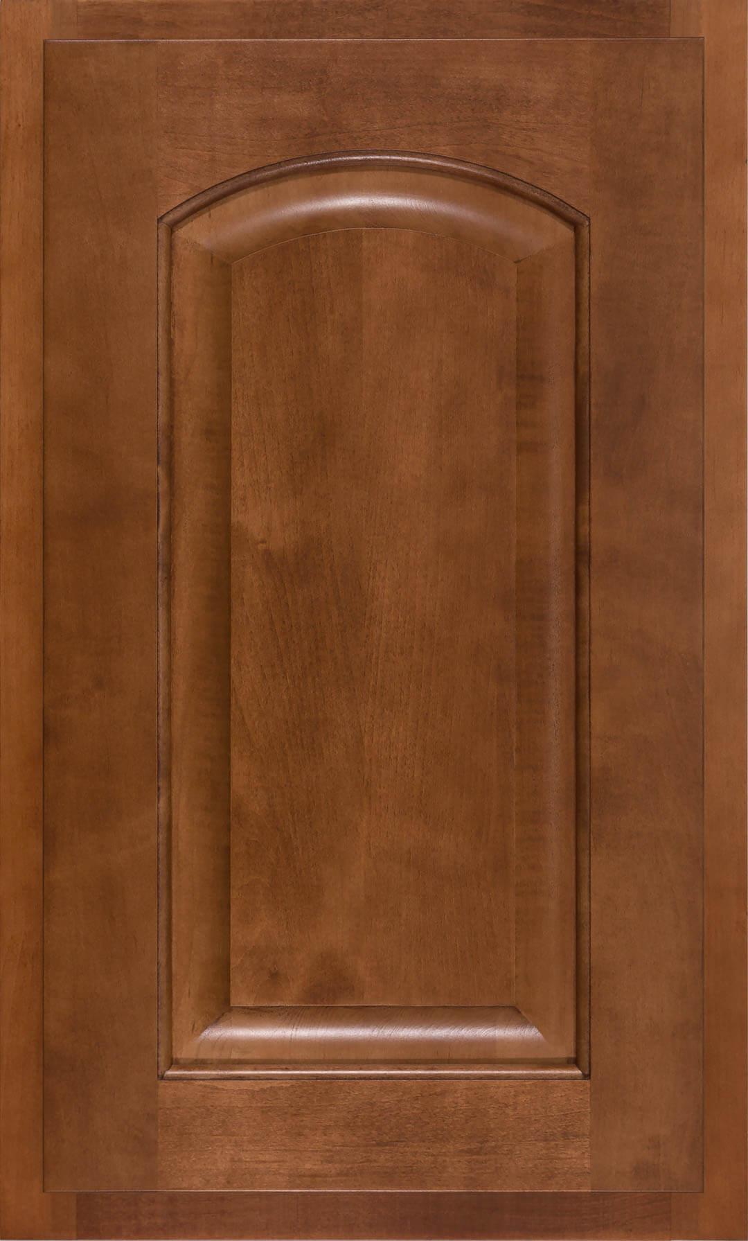Maple Ginger Crown Raised Panel