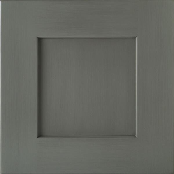 Brushed Gray Glaze