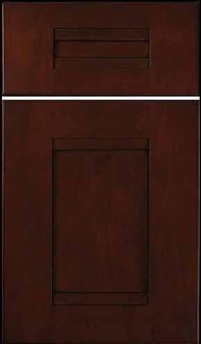 Aspen w/slab drawer front