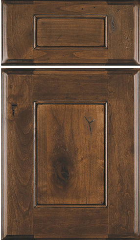 Heritage w/five piece drawer front