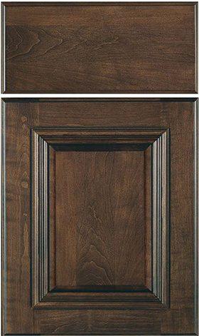 Montgomery w/slab drawer front