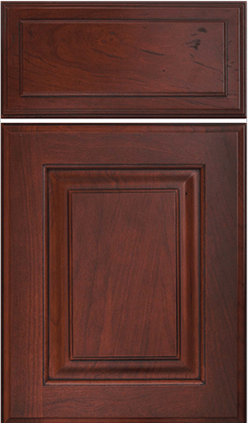 Oxford w/sculpted drawer front