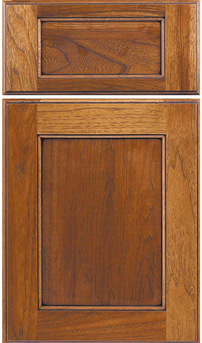 Square Flat w/ five piece drawer front