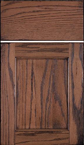 Square Flat w/ slab drawer fron