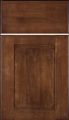 Somerset w/ slab drawer front