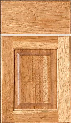 Square Raised w/slab drawer front