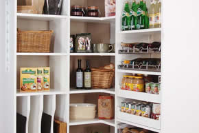 pantry closets - Custom Closets &  Closet Organizers by Cabinet Genies - Cape Coral FL