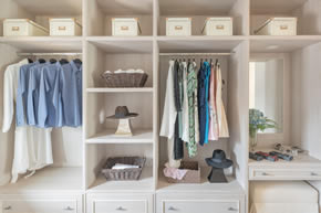 Wall or Reach in Closets - Custom Closets &  Closet Organizers by Cabinet Genies - Cape Coral FL