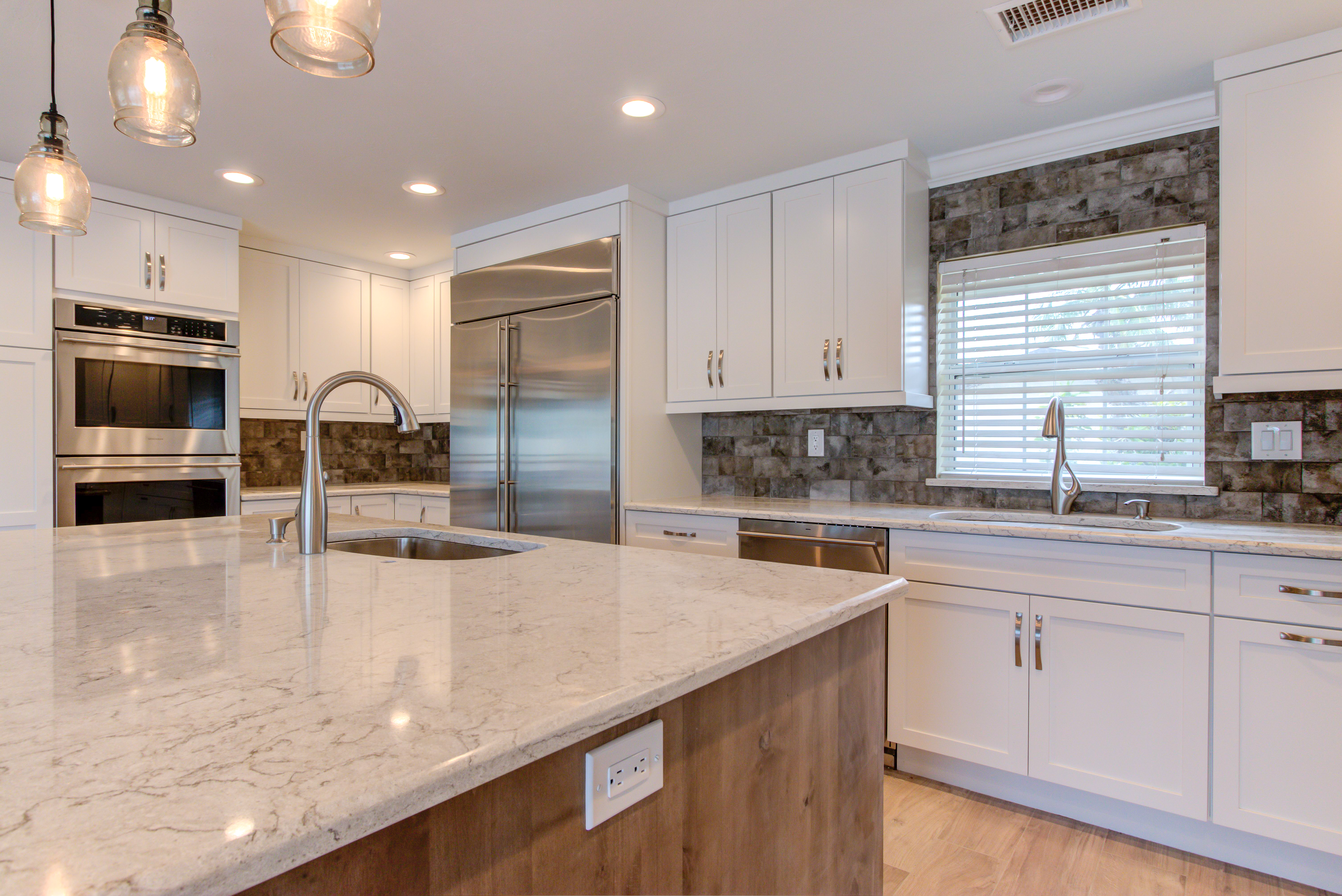 Pebblestone Remodel Cabinet Genies Kitchen And
