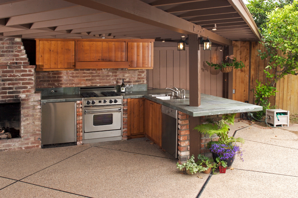 Build A Patio Kitchen